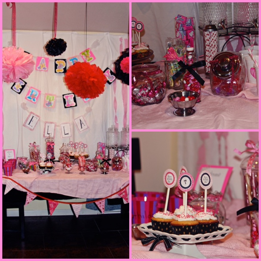 Pieces Of Me: Sweet Seven Year Old Birthday Party